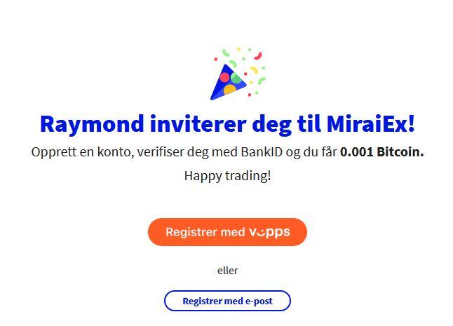 Affiliate link MiraiEx